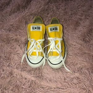 Yellow Converse Chuck Taylor All Star